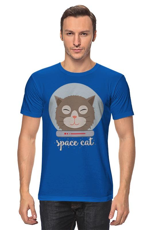 Футболка классическая Printio Космо кот (space cat) лонгслив printio космо кот space cat page 5