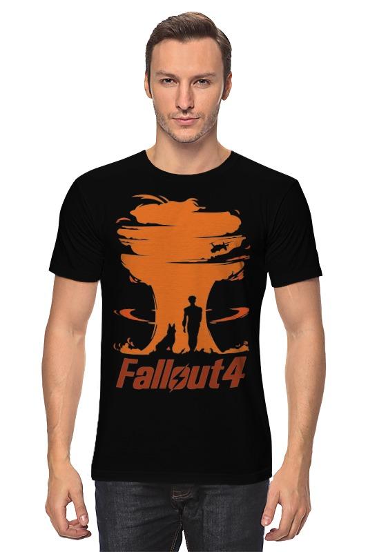 Футболка классическая Printio Fallout 4 бинокль fallout 3