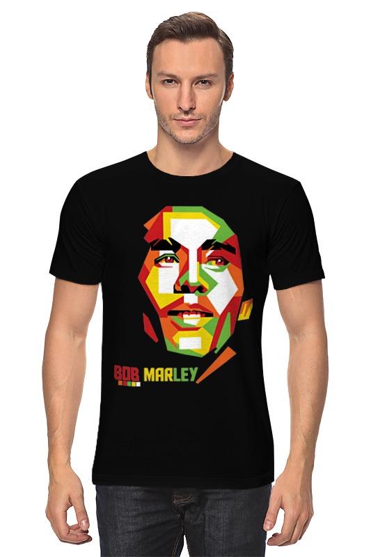 Футболка классическая Printio Bob marley bob marley bob marley live