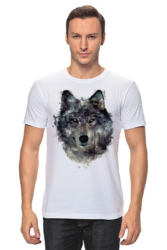 Футболка классическая Printio Серый волк футболка классическая printio тамбовский волк тебе товарищ