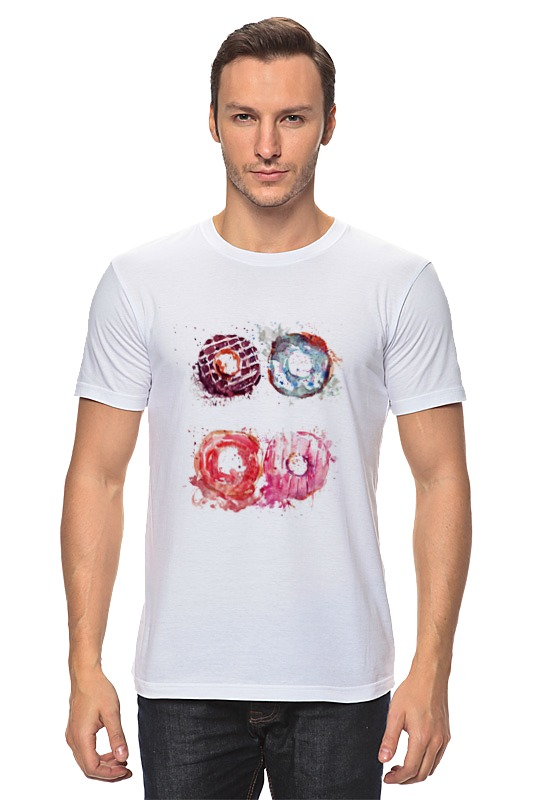 Футболка классическая Printio Пончики! donuts сумка printio пончики donuts