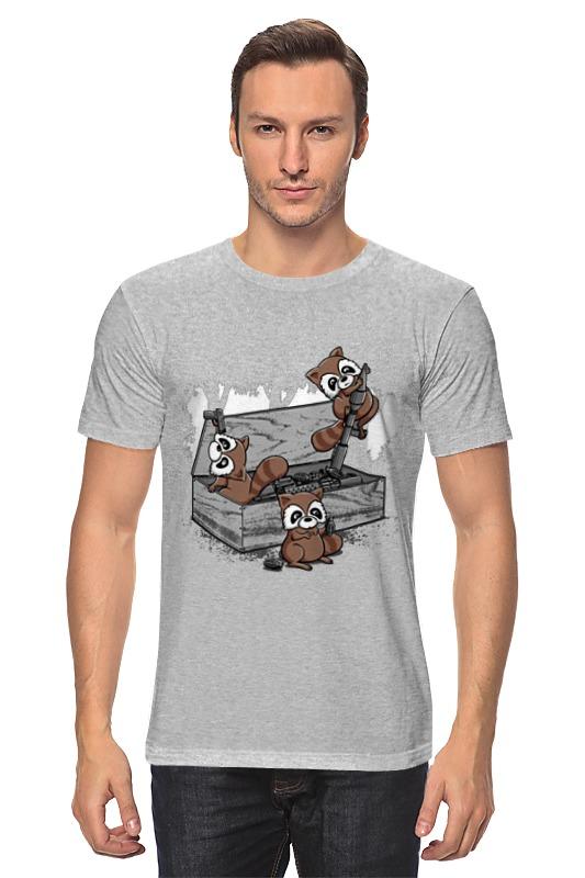 Футболка классическая Printio Raccoon terrorist футболка print bar the raccoon