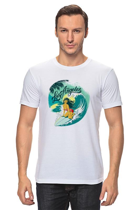 Футболка классическая Printio Лос-анжелес футболка wearcraft premium printio лос анжелес