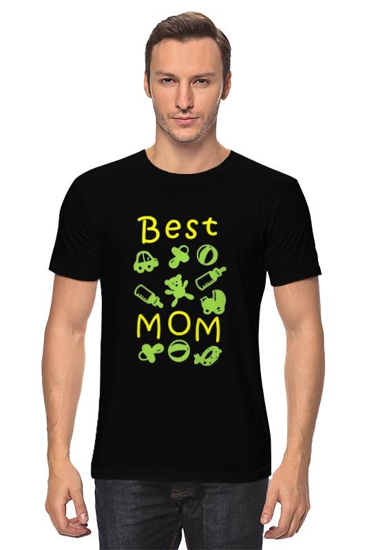 Футболка классическая Printio Best mom детская футболка классическая унисекс printio best mom
