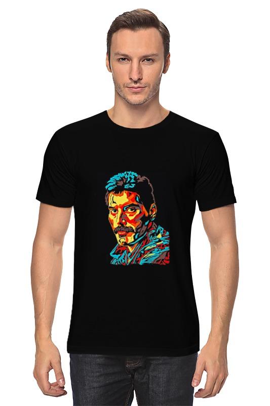 Футболка классическая Printio Freddie mercury - queen футболка классическая printio queen