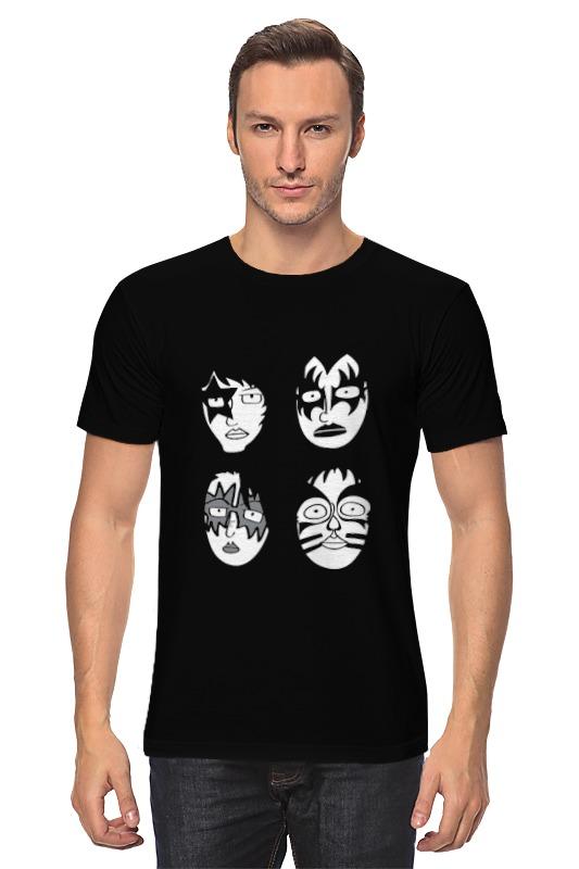 Printio Группа kiss футболка классическая printio рок группа nofx