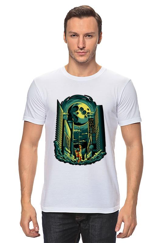Футболка классическая Printio Космосити футболка классическая printio портрет космонавта