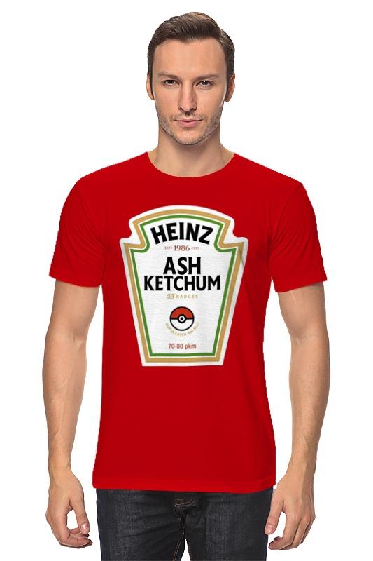 Футболка классическая Printio Heinz ash ketchum karl heinz bohle dresden in farbe