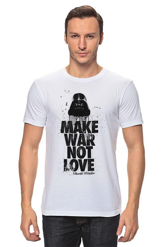 Футболка классическая Printio Make war not love by darth weider футболка классическая printio make war not love by darth weider