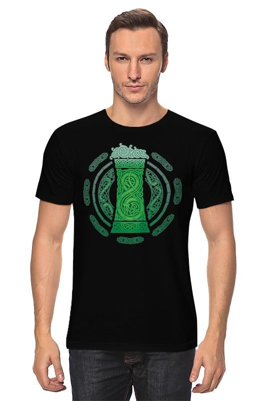 Футболка классическая Printio Зелёный эль kangfeng зелёный цвет 4545cm