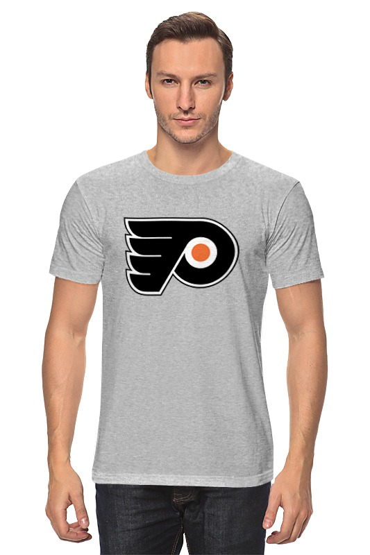 Футболка классическая Printio Philadelphia flyers / nhl usa футболка стрэйч printio philadelphia flyers nhl usa