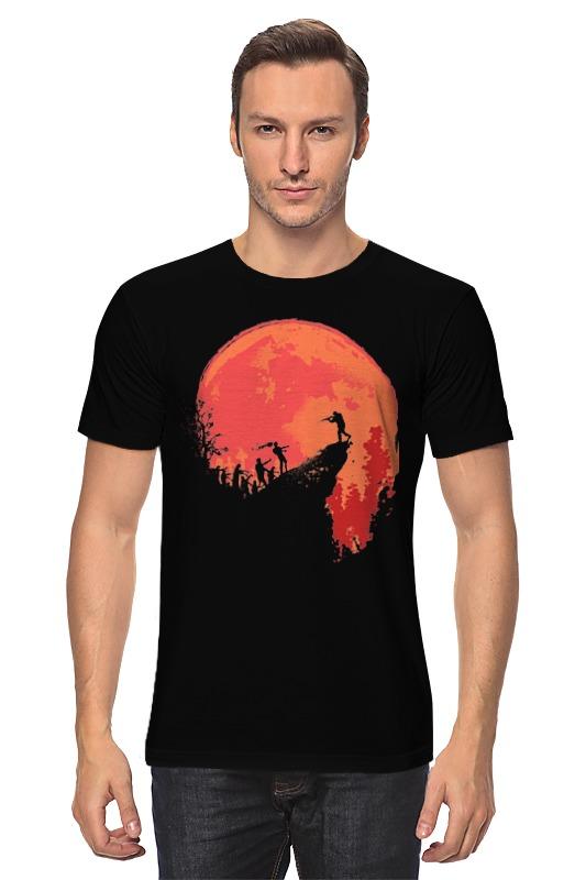 Футболка классическая Printio Красная луна футболка красная