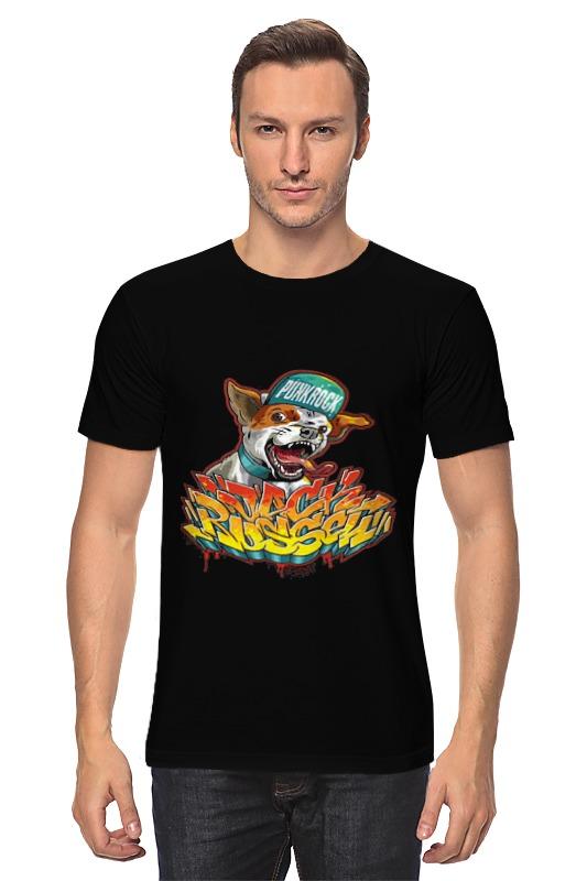 Футболка классическая Printio Punk rock женская футболка punk tee drop t camisetas y 2015 ropa mujer roupas femininas pok rock