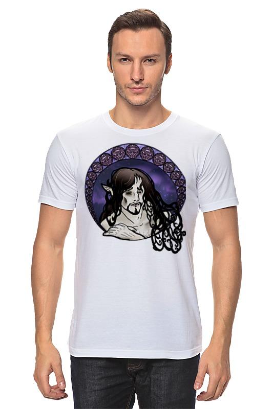 Футболка классическая Printio Портрет грустного эльфа футболка классическая printio николай гоголь портрет работы фёдора моллера
