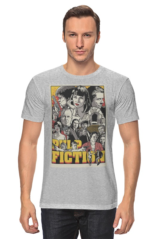 Футболка классическая Printio Pulp fiction family multicultural questions family matters in contemporary fiction