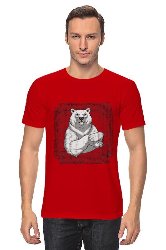Футболка классическая Printio Polar bear лонгслив printio bear beer медведь и мед