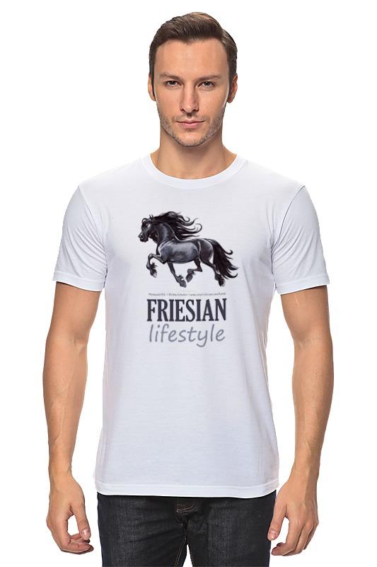 Футболка классическая Printio Friesian купить щебень на севере москвы