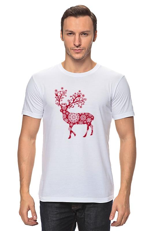 Футболка классическая Printio Новогодний олень футболка классическая printio новогодний лось