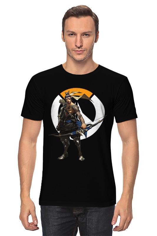 Футболка классическая Printio Overwatch hanzo / овервотч хандзо футболка классическая printio overwatch хандзо