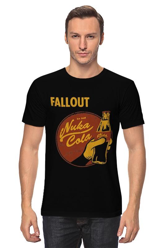 Футболка классическая Printio Fallout (nuka cola) футболка классическая printio fallout фэллаут