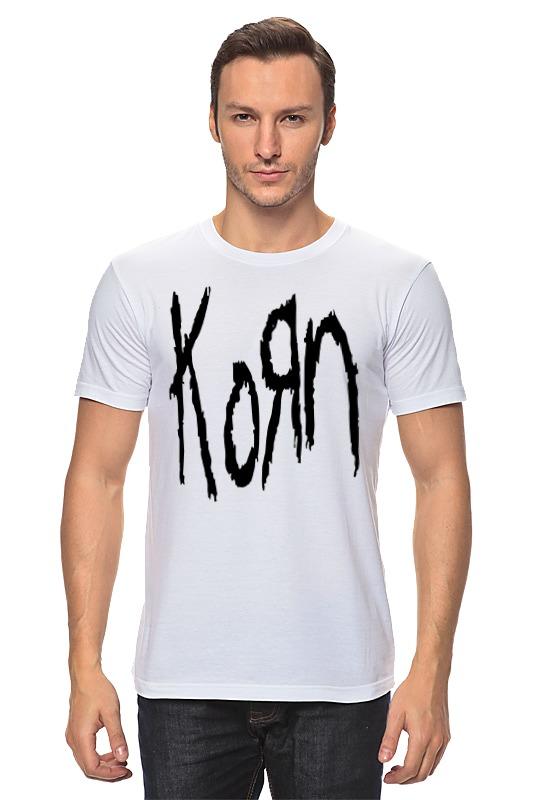 Футболка классическая Printio Korn (koяn) майка print bar korn