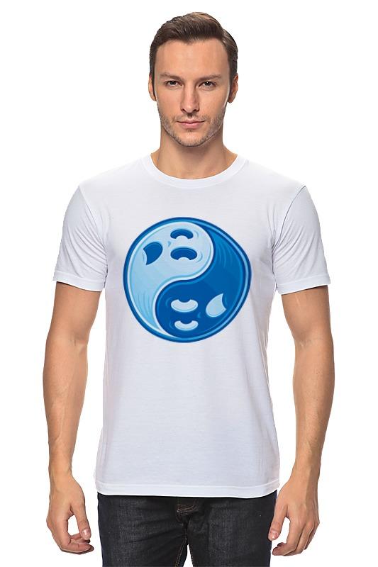 Футболка классическая Printio Инь ян футболка с полной запечаткой мужская printio инь ян