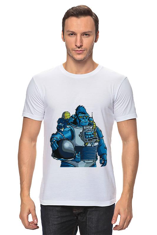 Printio Космическая горилла худи print bar космическая мода