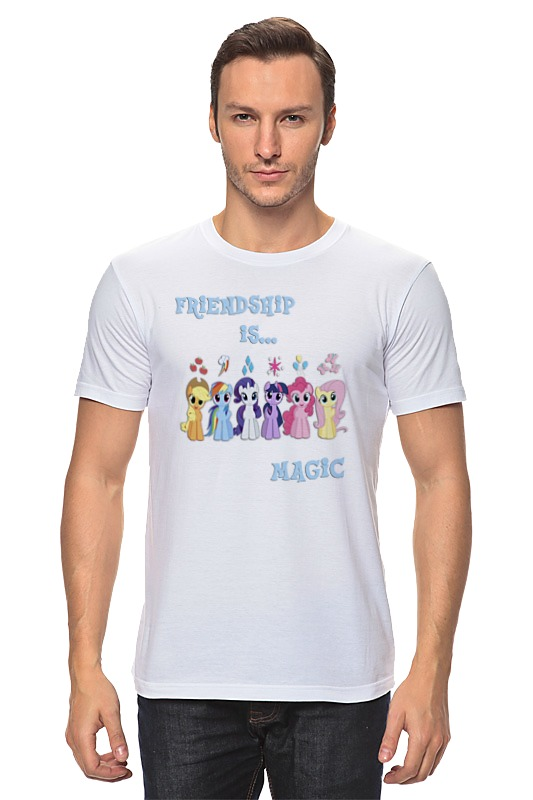 Футболка классическая Printio Friendship is magic