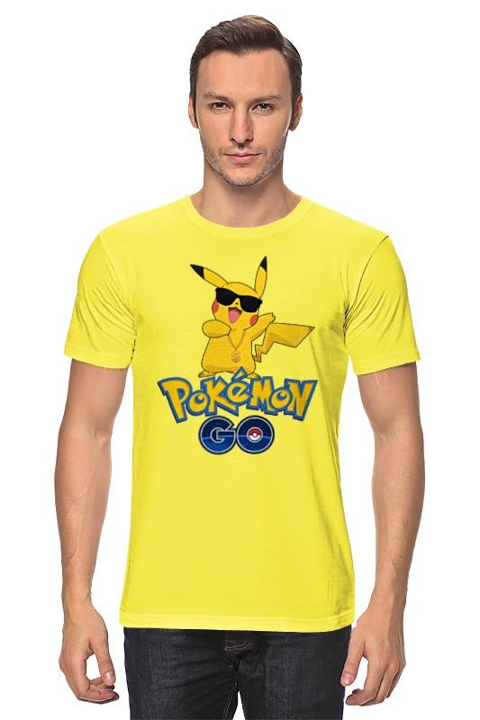 Футболка классическая Printio Pokemon go футболка print bar pokemon go