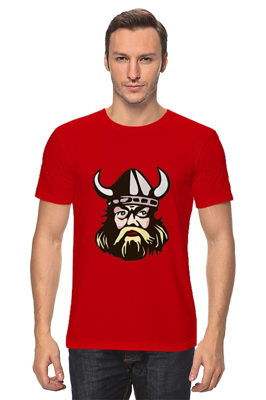 Футболка классическая Printio Веселый викинг футболка викинг
