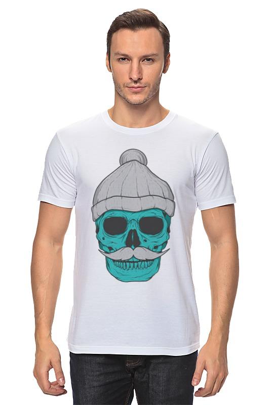 Футболка классическая Printio Hipster skull футболка классическая printio hipster skull