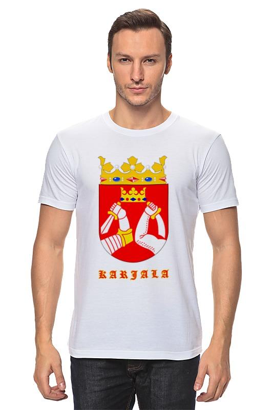 Футболка классическая Printio Сортавала-карелия футболка классическая printio сортавала карелия
