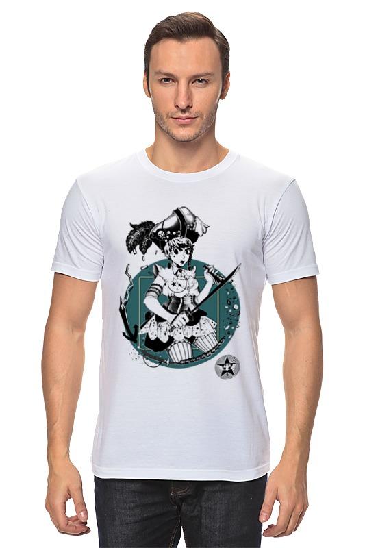 Футболка классическая Printio Пиратка детская футболка классическая унисекс printio пиратка