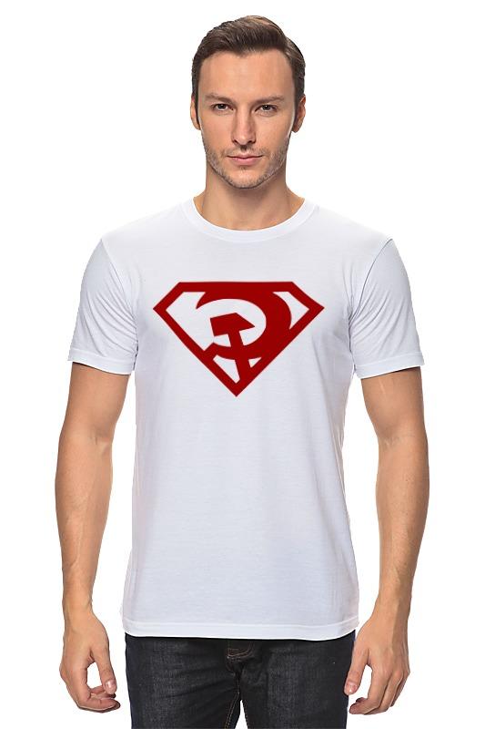 Футболка классическая Printio Ссср (супермен) сумка printio ссср супермен
