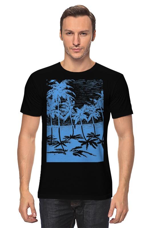 Фото - Футболка классическая Printio Пальмы юбка в складку printio пальмы