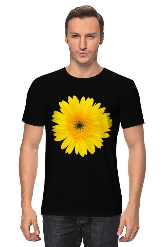 Футболка классическая Printio Желтый цветок цена