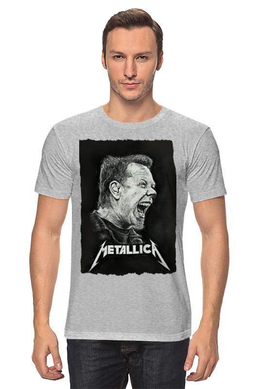 Футболка классическая Printio Metallica футболка классическая printio программирование