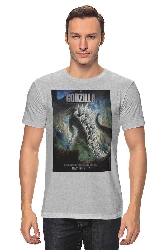 все цены на Футболка классическая Printio Godzilla / годзилла