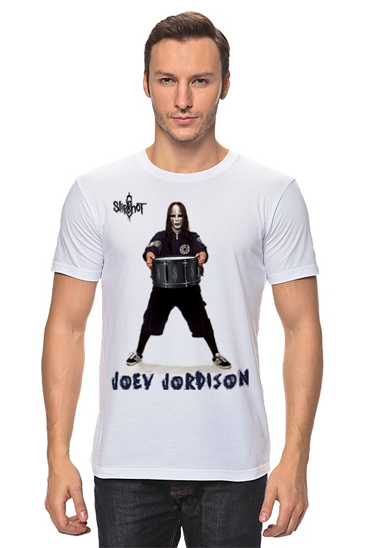 Футболка классическая Printio Joey jordison цена 2017