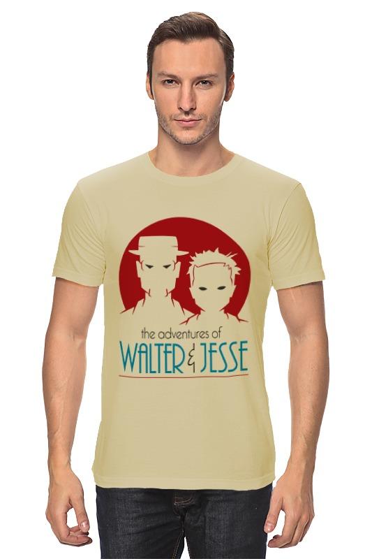 Футболка классическая Printio Walter & jesse sir walter scott ivanhoe