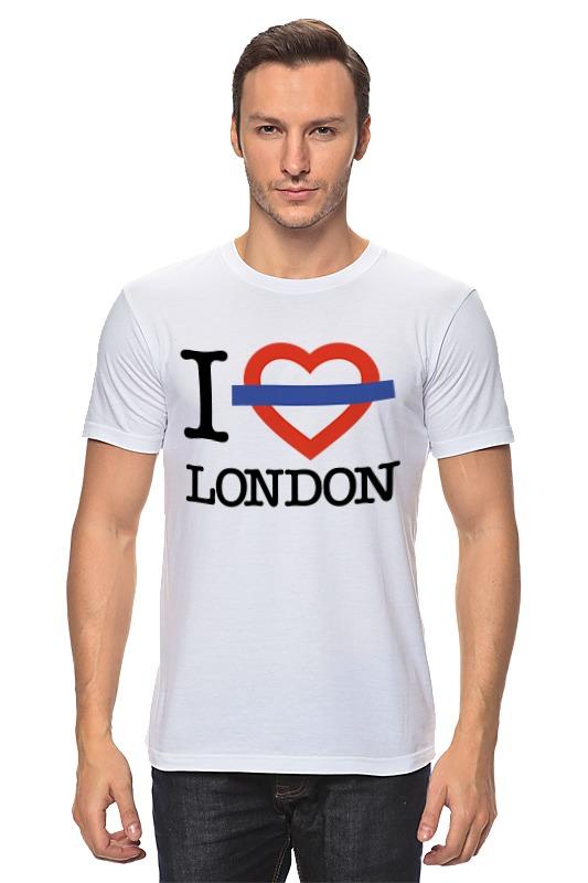 Футболка классическая Printio Люблю лондон сейф я люблю лондон