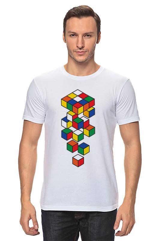 Printio Кубик рубика футболка с полной запечаткой мужская printio кубик рубика