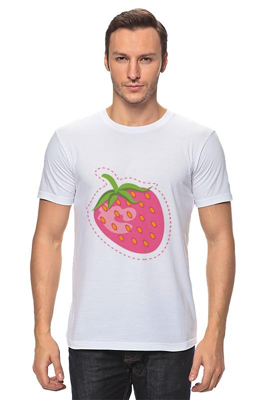 Футболка классическая Printio Сладкая клубничка футболка классическая printio клубничка