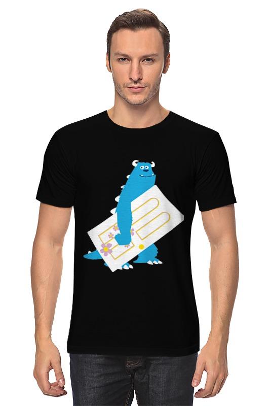 Printio Корпорация монстров ( monsters, inc. ) футболка wearcraft premium slim fit printio корпорация монстров monsters inc