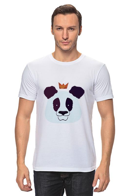 Футболка классическая Printio Король панда