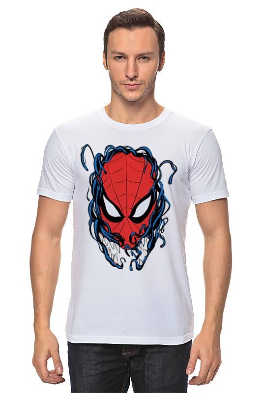 Футболка классическая Printio Человек паук и веном бендис б багли м современный человек паук том 4 веном