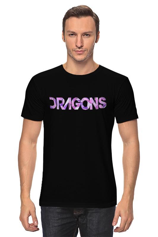 Футболка классическая Printio Imagine dragons imagine dragons imagine dragons night visions