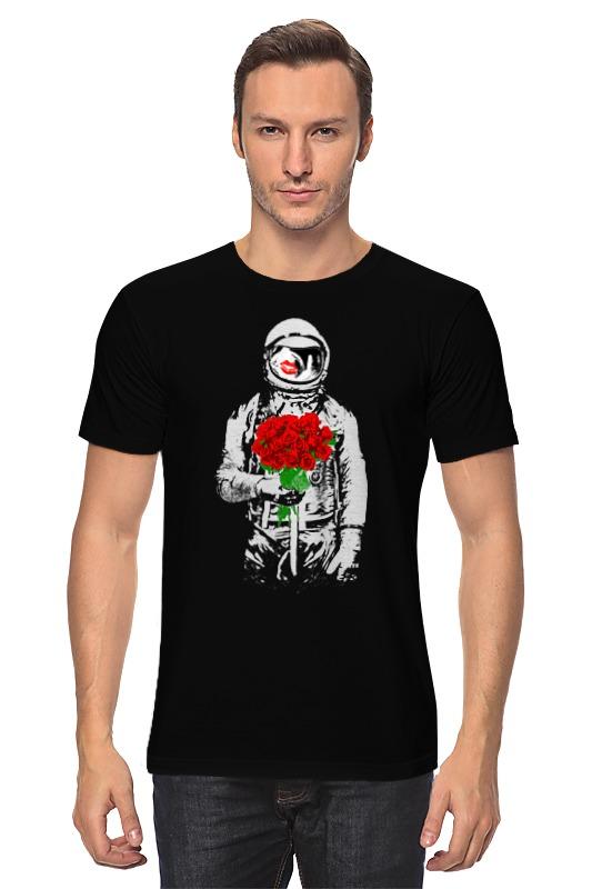 Футболка классическая Printio Букет красных роз
