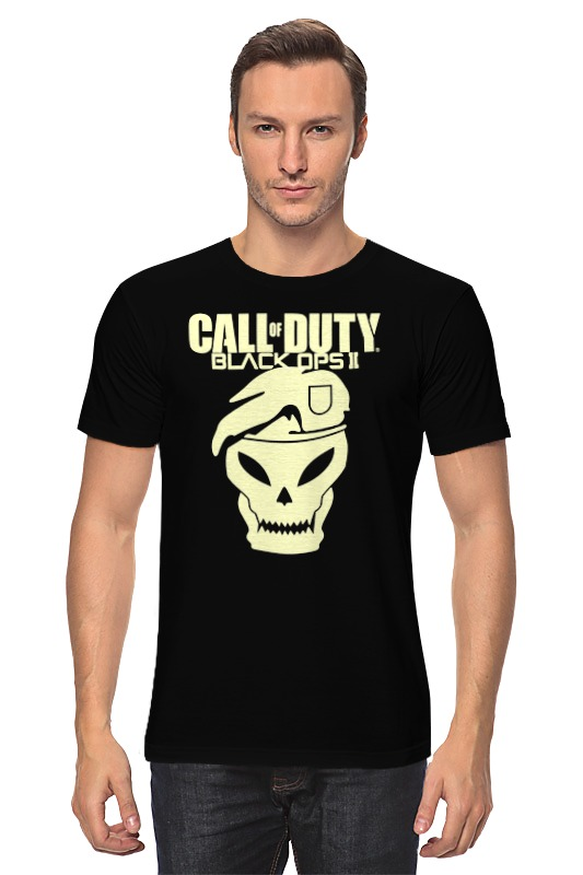 Футболка классическая Printio Call of duty black ops футболка wearcraft premium printio call of duty black ops