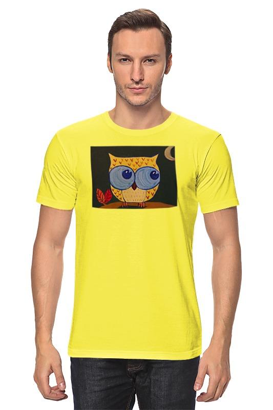 Футболка классическая Printio Сова ночью. футболка print bar сова